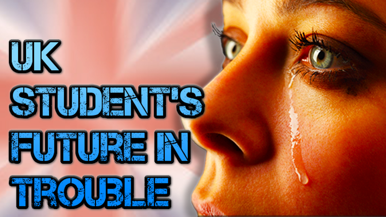 UK STUDENTS FUTURE IN TROUBLE