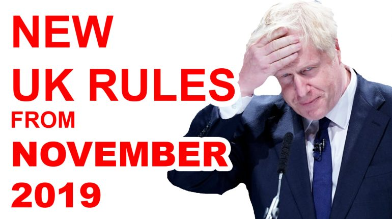 BREXIT NO DEAL NEW UK IMMIGRATION RULES