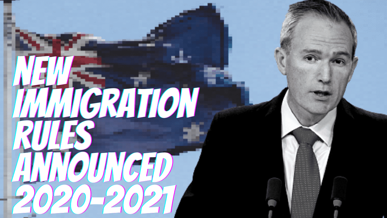 AUSTRALIAN GOVERNMENT ANNOUNCES VISA CHANGES FOR 2020-21 MIGRATION YEAR